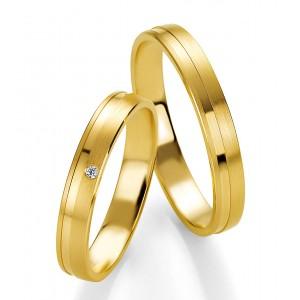 Moderne Eheringe, die Sie personalisieren können! Eheringe nach Mass... Aus weissem Gold mit Diamanten.  in matter und glänzender Linie