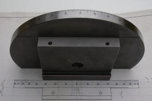 Runden Oberfläche graviert (graduiert)