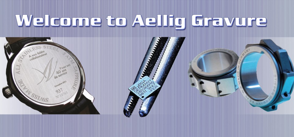 Welcome to Aellig Laser Marking