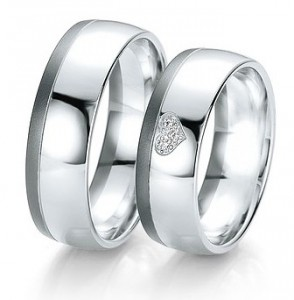 wedding rings customizable you choose your wedding ring white gold with heart diamond