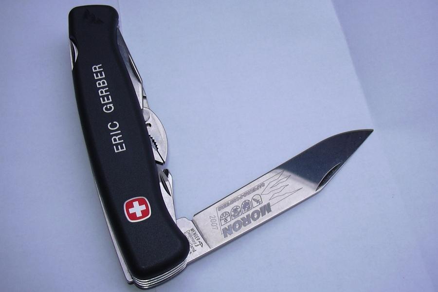 couteau suisse gravure