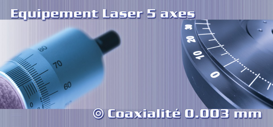 Marquage Laser sur 5 axes