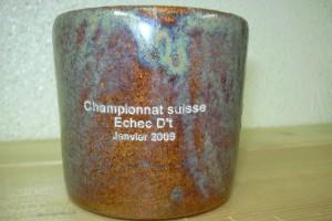 Gravure sur une tasse en porcelaine originale.